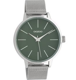 OOZOO Horloge C10006 bosgroen 42mm - OOZOO