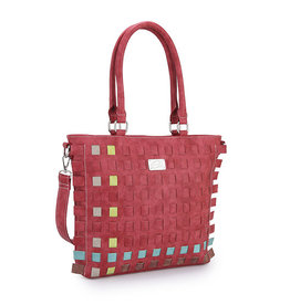 Hi-Di-Hi Tas Tangle rood/multicolor - Hi-Di-Hi