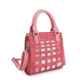 Hi-Di-Hi Tas Cluster rood/roze/beige - Hi-Di-Hi