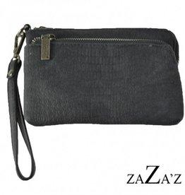 ZaZa'Z Tas klein met 2 ritsen - ZaZa'Z
