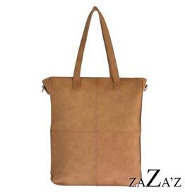 ZaZa'Z Tas Shopper Camel - ZaZa'Z