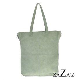 ZaZa'Z Tas Shopper Mintgrey - ZaZa'Z
