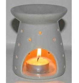 Brander voor de Wax Melts middel grijs