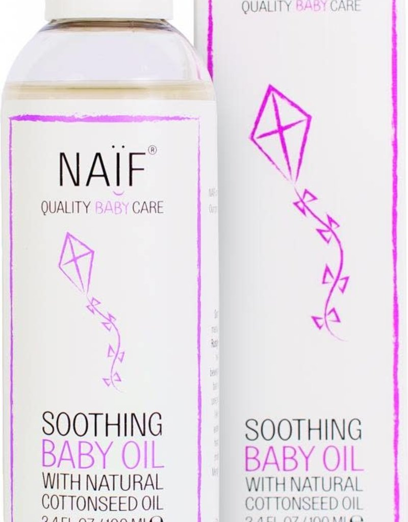 Naïf Quality Baby Care Verzachtende Baby Olie 100ml - Naïf