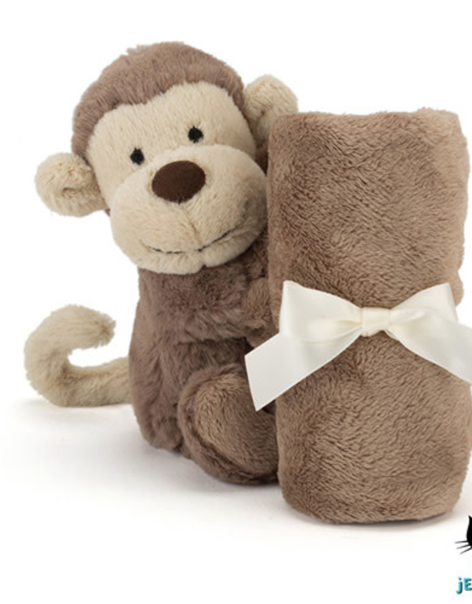 Jellycat Knuffel Doek Bashful Monkey Soother - Jellycat