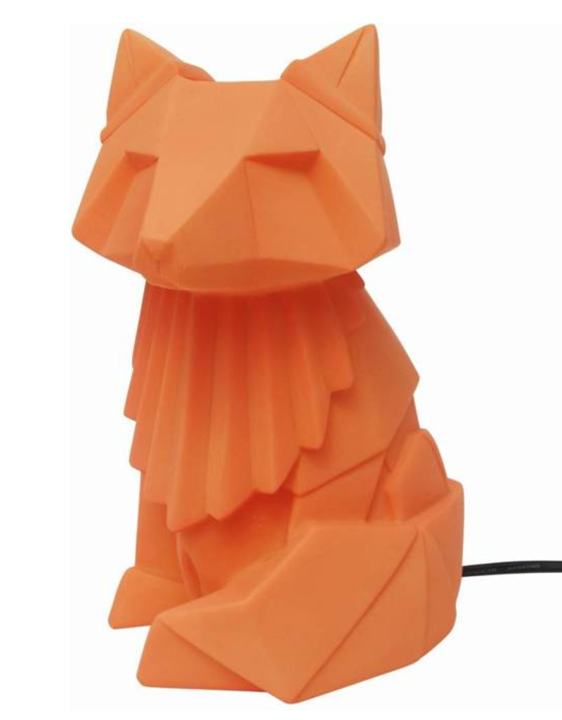 House of Disaster Origami Lamp Vos oranje bruin - House of Disaster