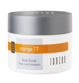JANZEN Body Scrub Orange 77 - JANZEN