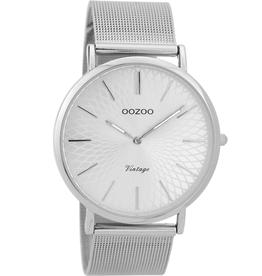 OOZOO Horloge Zilver 40mm C9340 - OOZOO