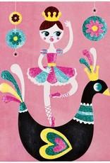 Janod Glitterkaarten Ballerina - Janod Atelier