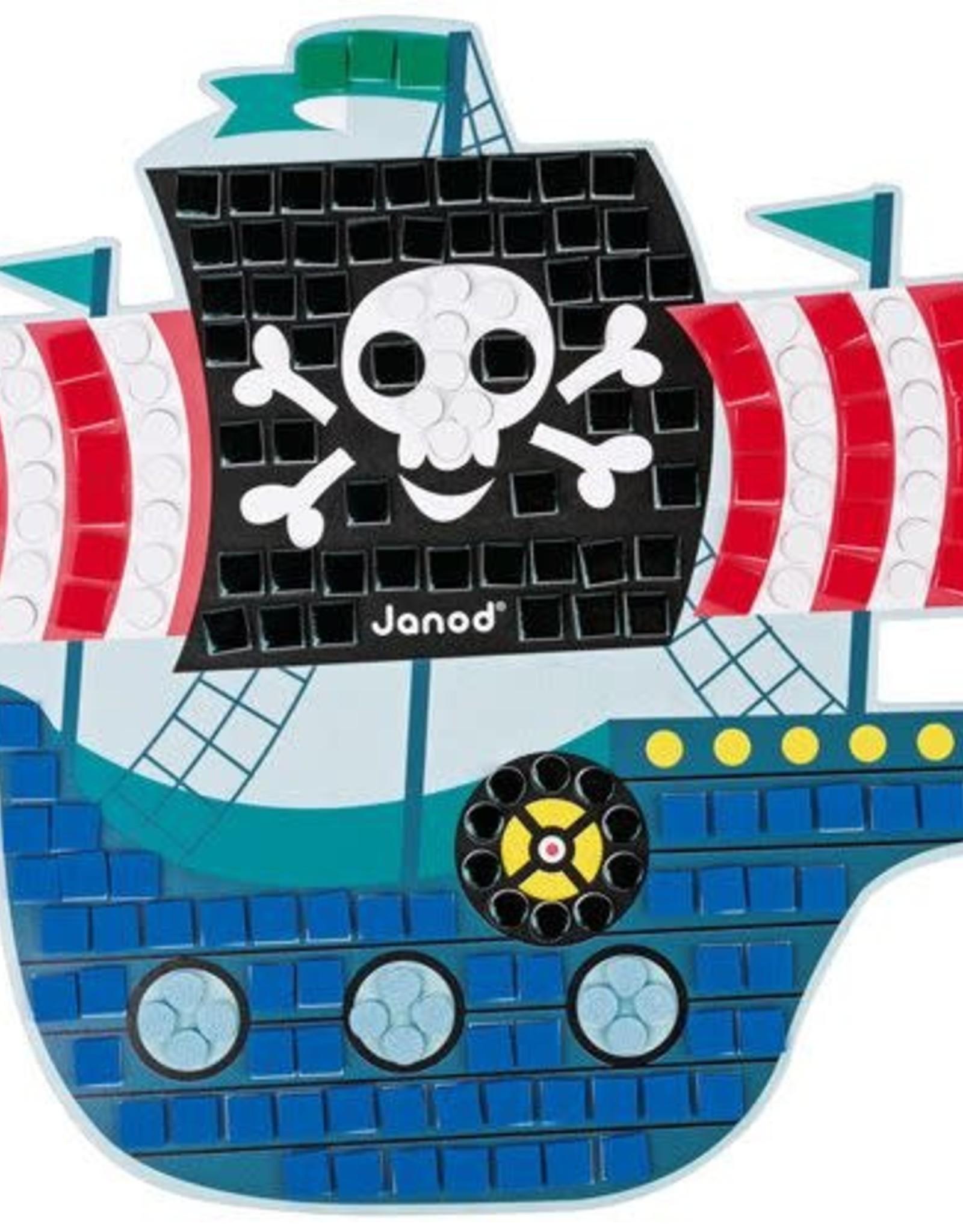Janod Mozaïek Piraten - Janod Atelier