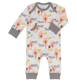 Fresk Pyjama zonder voet Vos roze 3-6mnd - Fresk