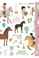 Djeco 160 Stickers Paarden - Djeco