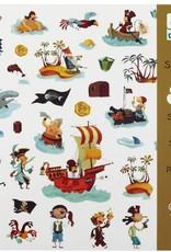Djeco 160 Stickers Piraten - Djeco