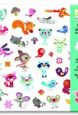 Djeco 160 Stickers Vriendjes - Djeco