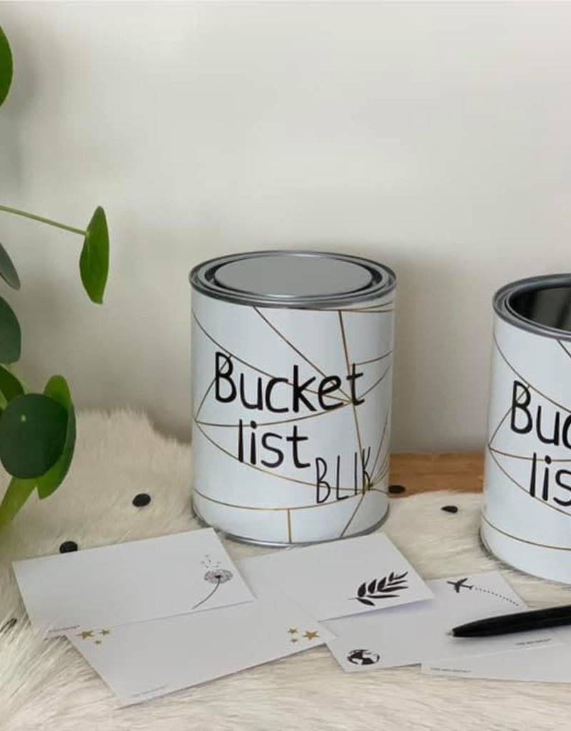 The Big Gifts Bucketlist Blik NL versie - The Big Gifts