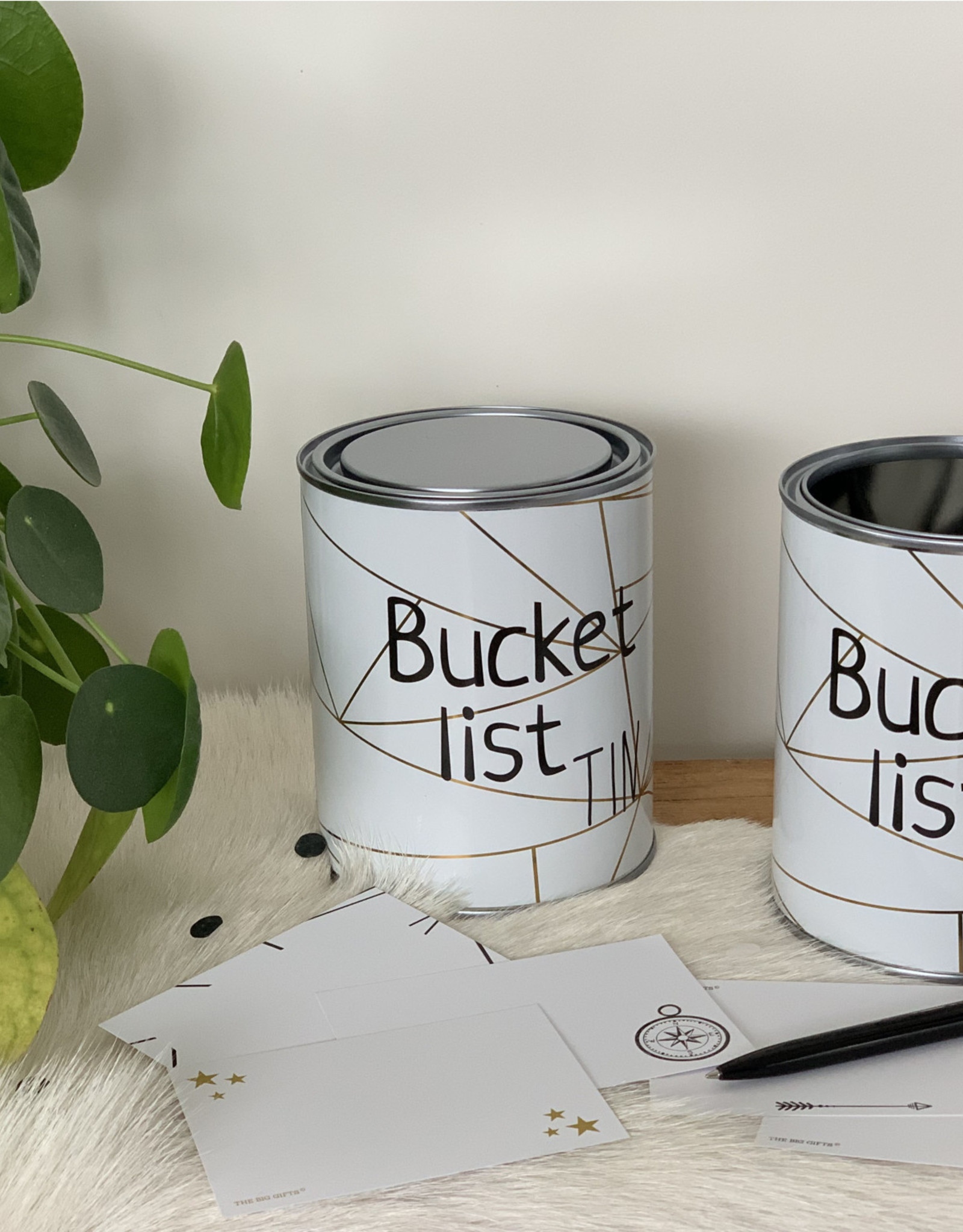 The Big Gifts Bucketlist Tin ENG version - The Big Gifts