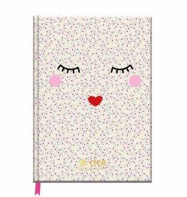 Rice Notitieboek A5 Rice met lijntjes - Rice