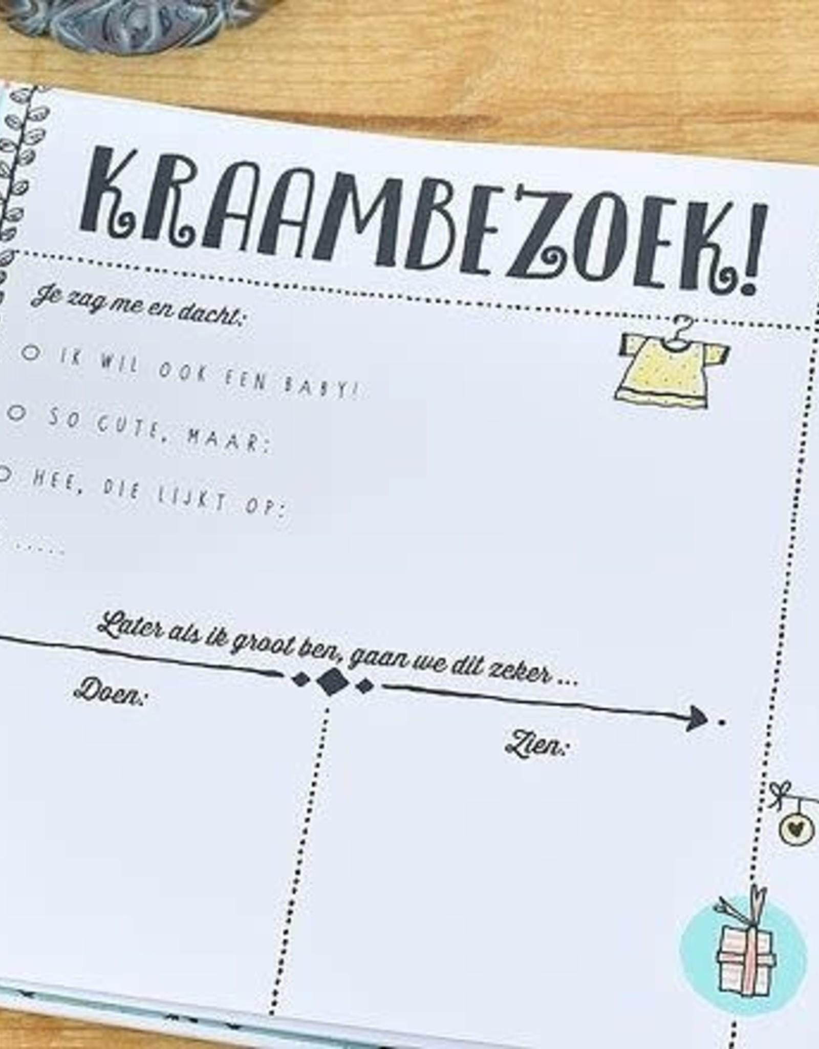 """Pauline Oud Kraambezoekboek """"O'Baby"""" - Pauline Oud"""