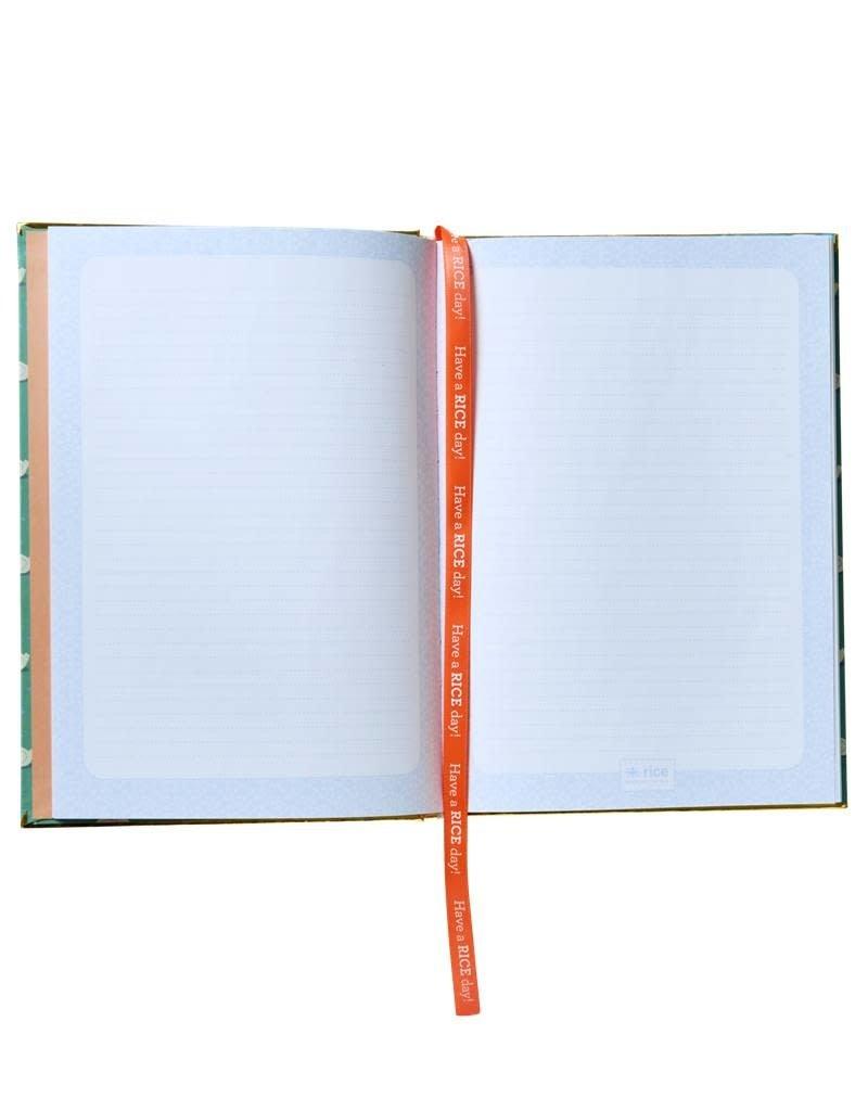 "Rice Notitieboek A5 ""Swim All Day"" - Rice"