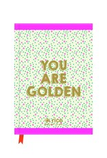 """Rice Notitieboek A5 """"You are Golden"""" - Rice"""