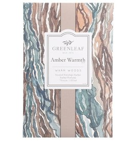 GreenLeaf Amber Warmth Geurzakje groot - GreenLeaf