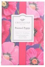 GreenLeaf Painted Poppy Geurzakje groot - GreenLeaf