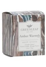 GreenLeaf Amber Warmth Geurkaars 15 branduren - GreenLeaf