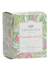 GreenLeaf Cucumber & Lily Geurkaars 15 branduren - GreenLeaf
