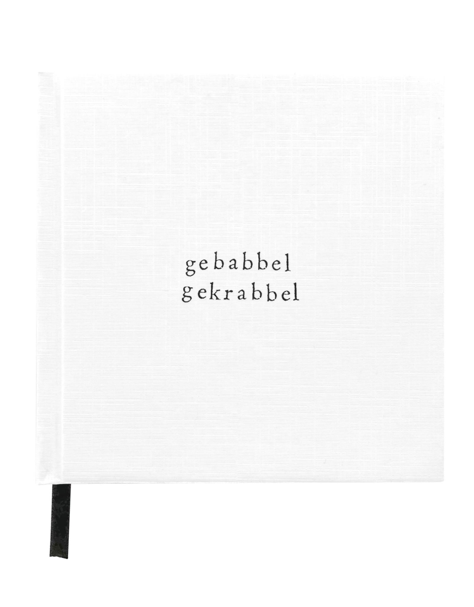 IkPakJeIn Notitieboek Gebrabbel Gekrabbel 12x12cm - IkPakJeIn