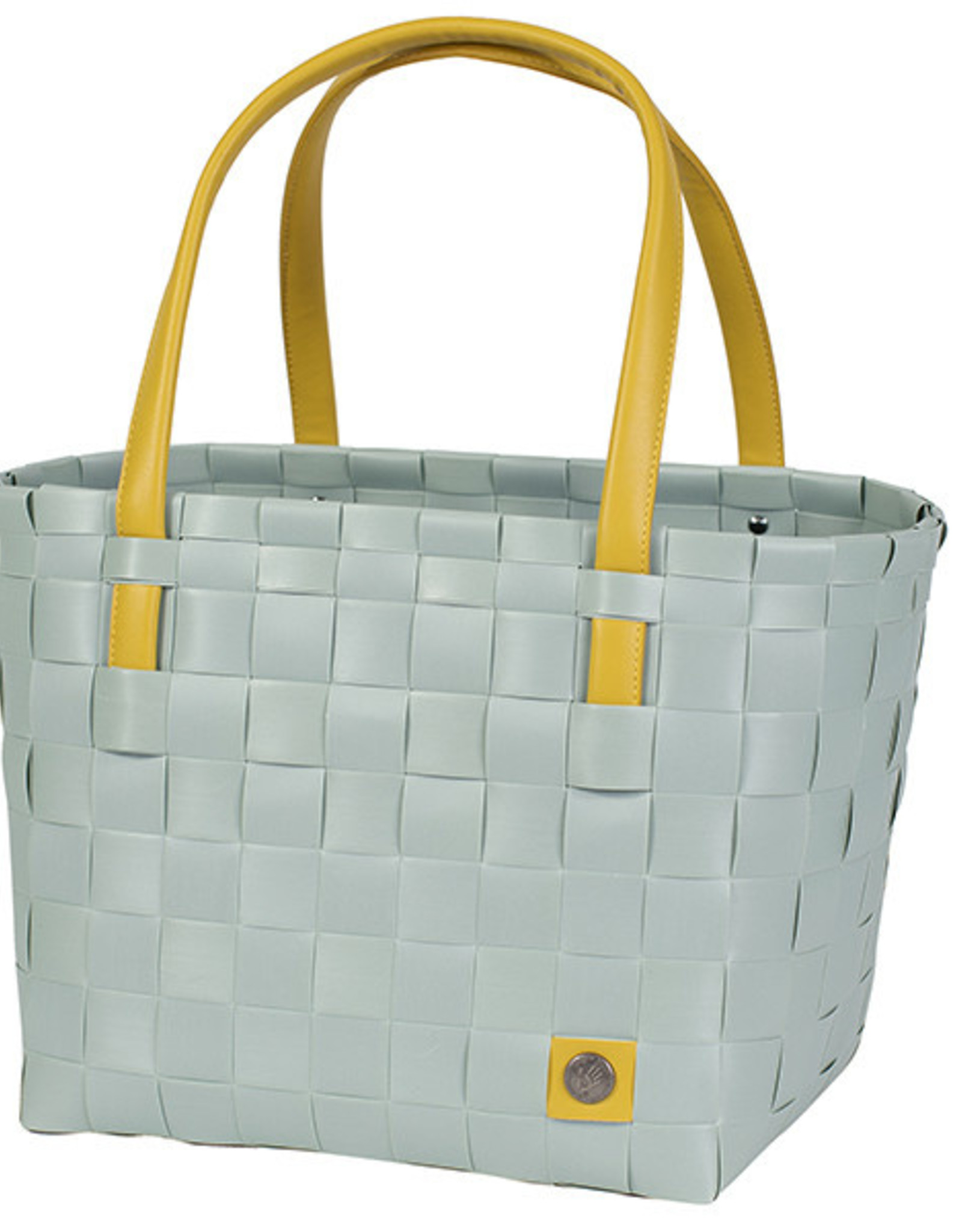 """Handed By Shopper """"Color Block"""" greyish green - Handed By"""