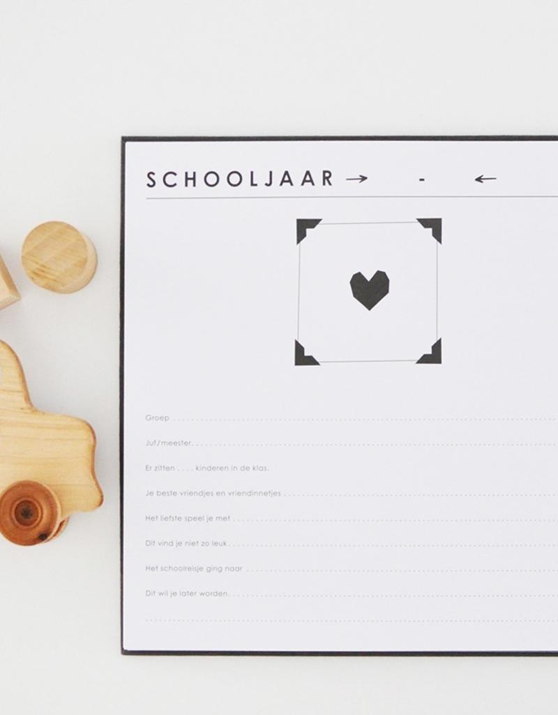 House of Products Schoolfotoboek - Grey Linen