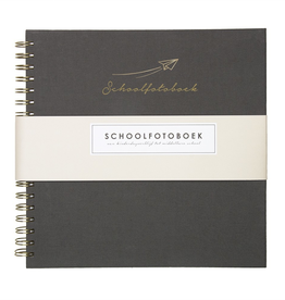 House of Products Schoolfotoboek - Grey Linen