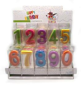 """Verjaardagskaars """"0"""""""