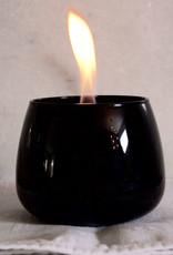 Tenderflame Crocus Glass zwart (tafelhaard) - Tenderflame