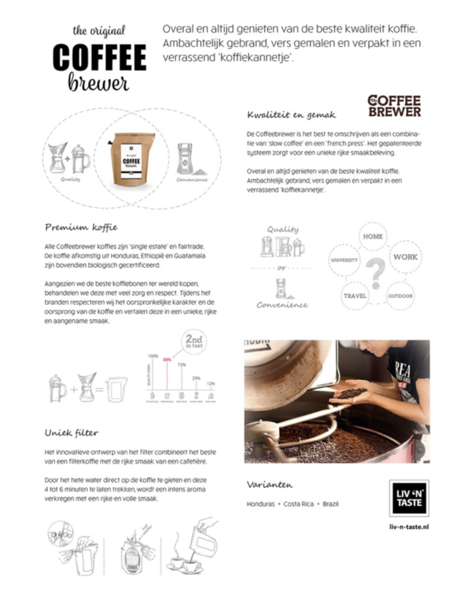 LIV 'N TASTE Coffeebrewer Sint - CoffeeBrewer Gift
