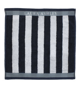 Laura Ashley Keuken Handdoek Midnight Stripe V - Laura Ashley