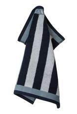 Laura Ashley Keuken Handdoek Midnight Stripe V - Laura Ashley