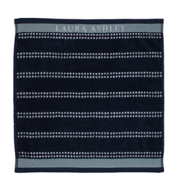 Laura Ashley Keuken Handdoek Midnight Stripe H - Laura Ashley