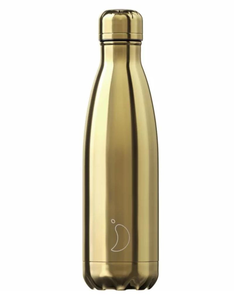 Chilly's Bottles Chilly's Bottle Goud 500ml - Chilly's Bottles