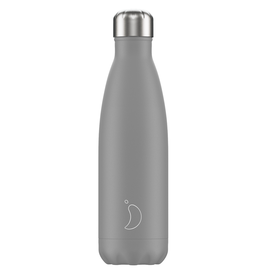 Chilly's Bottles Chilly's Bottle Grijs 500ml - Chilly's Bottles