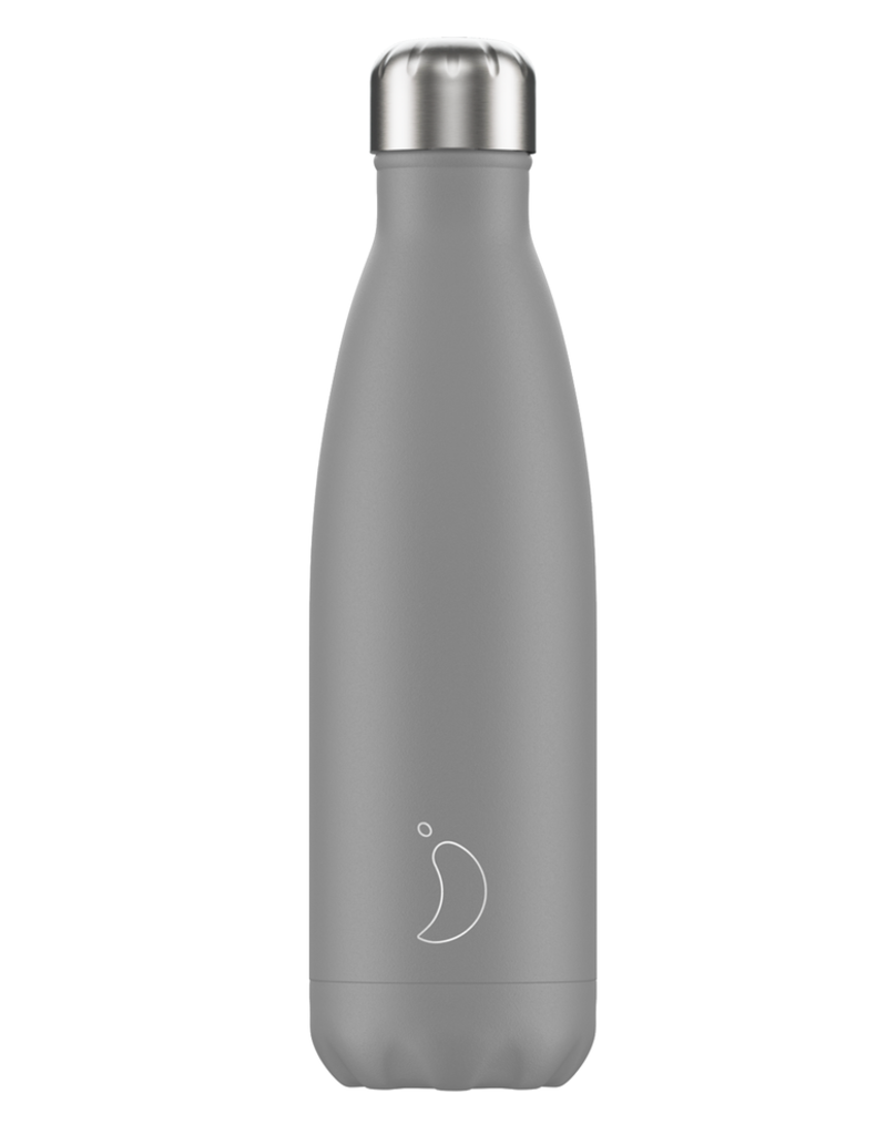 Chilly's Bottles Chilly's Bottle Grijs 500ml - Chilly's Bottles