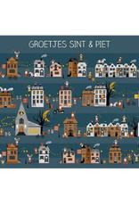 House of Products Ansichtkaart Groetjes Sint & Piet