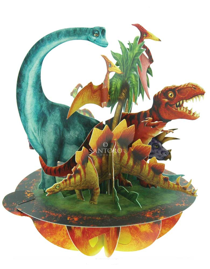 Santoro London Jurassic Dinosauriërs - Santoro Pirouettes