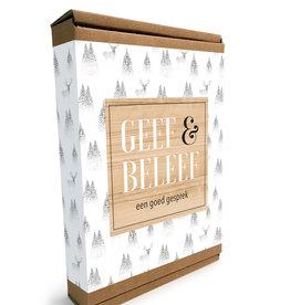 Geef & Beleef doosje Een goed Gesprek wit