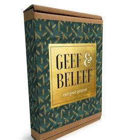 Geef & Beleef doosje Een goed Gesprek groen