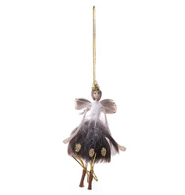 Home Society Hangende Engel Stella donker met goud - Home Society