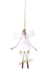 Home Society Hangende Engel Stella wit met goud - Home Society