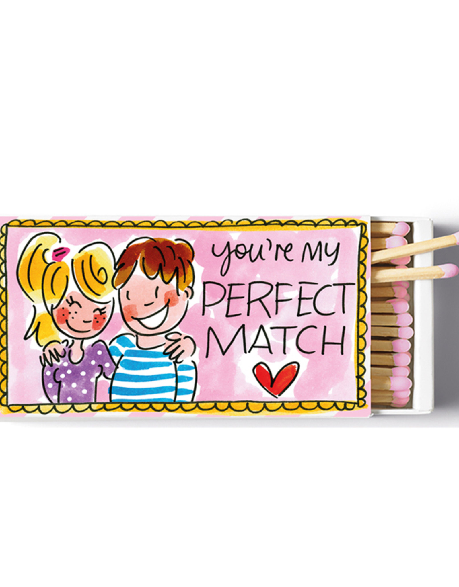 Blond Amsterdam Doos Lucifers You're my Perfect Match - Blond Amsterdam
