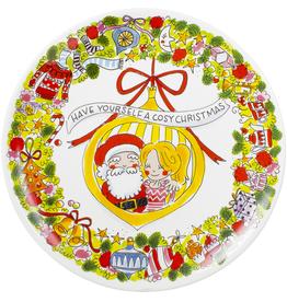 Blond Amsterdam Platte Schaal 33cm Christmas - Blond Amsterdam