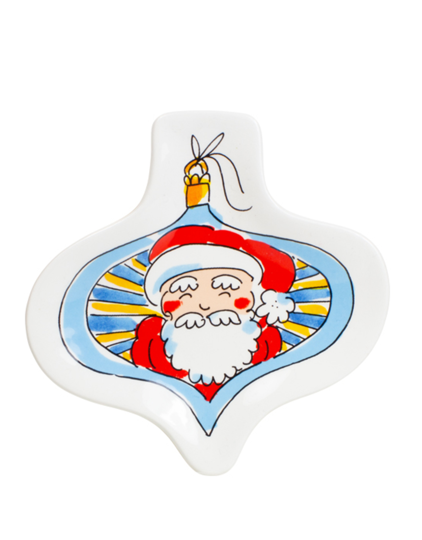 Blond Amsterdam 3d Bord Christmas Santa - Blond Amsterdam